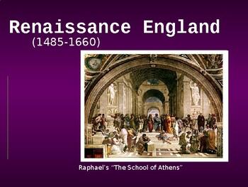Renaissance / Tudor England PPT