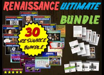 Renaissance Ultimate Bundle: 11 PPTs, 9 handouts/resources