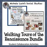 Renaissance Walking Tour Gallery Walk Activity Bundle