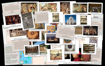 Renaissance Walking Tour or Gallery Walk of Florence Italy Centers Activity