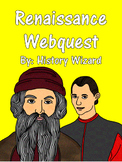Renaissance Webquest and Answer Sheet (Great Lesson Plan)