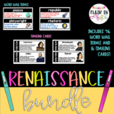 Renaissance Word Wall and Timeline Poster BUNDLE