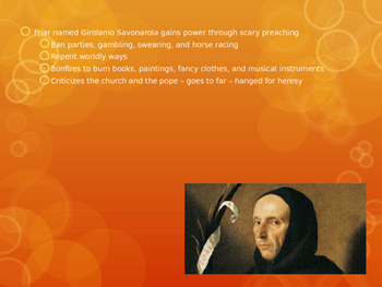 Renaissance and Protestant Reformation Powerpoint