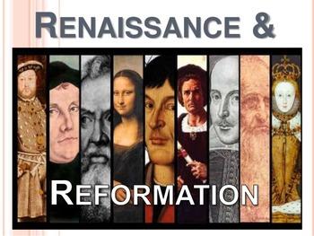 Renaissance and Protestant Reformation Unit