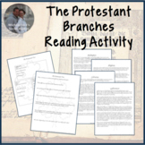 Renaissance and Reformation Branches of Protestantism Jigsaw Activity