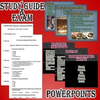 Renaissance and Reformation Activity *Bundle* (World History)