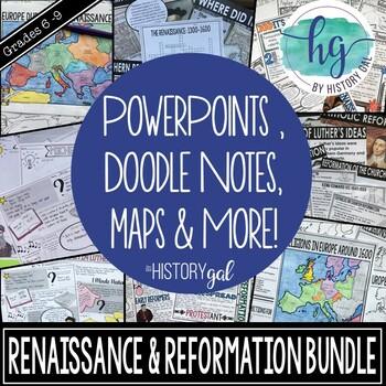 Renaissance and Reformation Bundle