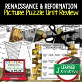 Renaissance and Reformation Picture Puzzle Unit Review, St
