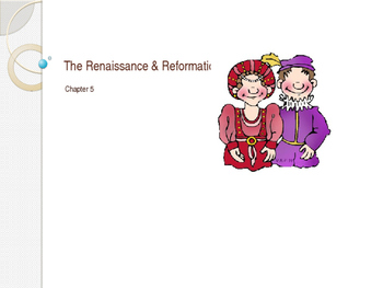 Renaissance and Reformation Power Point