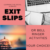 Renaissance or Reformation Exit Slips or Bell Ringer Activities
