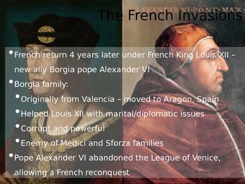 Renaissance (pt 2 of 2) AP European History
