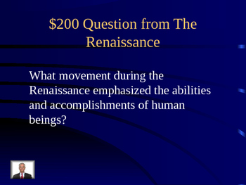 Renaissance to Industrial Revolution Jeopardy Powerpoint