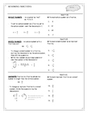 Renaming Fractions Worksheet