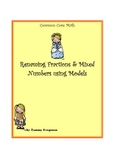 Renaming Fractions and Mixed Numbers using Models
