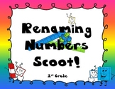 Renaming Numbers Scoot! 1st grade