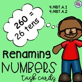 Renaming Numbers Task Cards {4.NBT.A.1} {4.NBT.A.2}