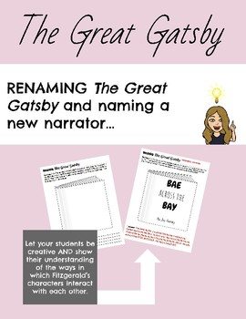 Renaming The Great Gatsby