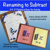 Renaming Practice for Subtraction