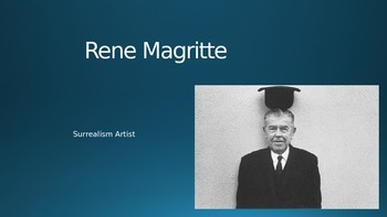 Rene Magritte PowerPoint and Art Project