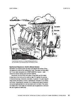 Renewable & non-renewable energy: electricity generation - text & activities