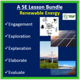 Renewable Energy - 5E Lesson Bundle