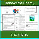 Renewable Energy FREE SAMPLE