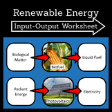 Renewable Energy Input-Output Worksheet