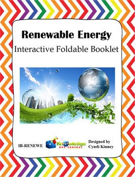 Renewable Energy Interactive Foldable Booklet