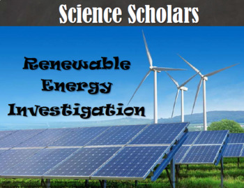Renewable Energy Investigation
