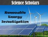Renewable Energy Investigation