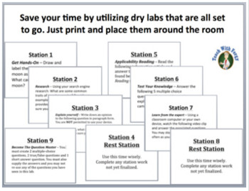 Renewable Energy - Lab Station Activity
