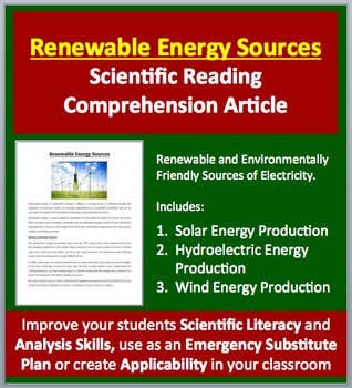Renewable Energy Production - Clean Electricity - Science