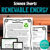 Renewable Energy Reading Comprehension Passage