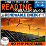 Digital Text for Google Drive™| Renewable Energy Passages