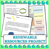 Renewable Energy Research Project