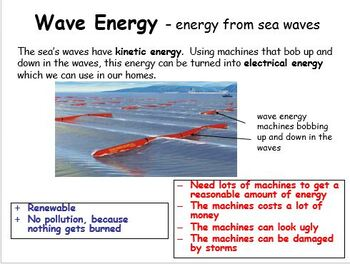 Renewable Energy Resources - electrical generation