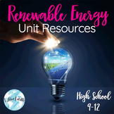 Renewable Energy Resources Curriculum Bundle