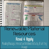 Renewable Material Resources Reading Comprehension Interac
