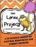 The Lorax Project: Natural Resources