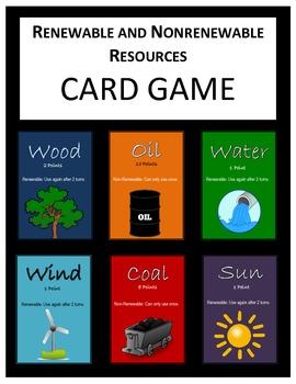 Renewable Resources Game