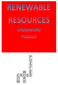 Renewable Resources Crossword Puzzles