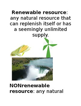 Renewable Sources Opinion Persuasive Writing