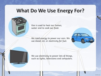 Renewable and Non-Renewable Resources PowerPoint