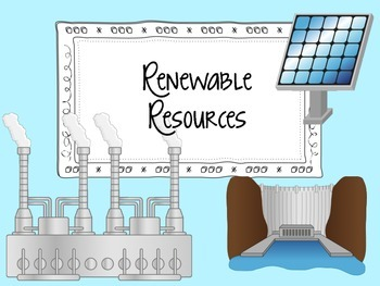 Renewable and Non-renewable Energy Resources Signs