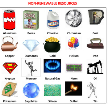 Renewable and Non-renewable Resources Safari Game