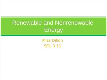 Renewable and Nonrenewable Energy