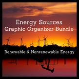 Renewable and Nonrenewable Energy Graphic Organizer Bundle