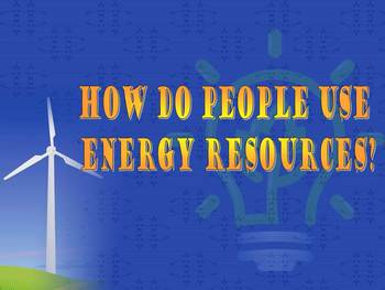 Renewable and Nonrenewable Energy PPT