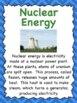 Renewable and Nonrenewable Energy Posters
