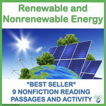 Renewable and Nonrenewable Energy Reading Passages for NGSS